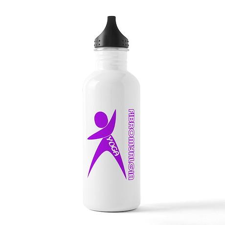 YOGA FIBROMYALGIA Water Bottle