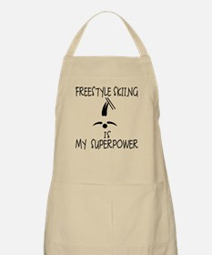 FREESTYLE SKIING is My Superpower Apron