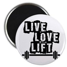 Live, Love, Lift Magnets