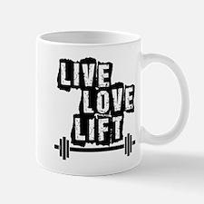 Live, Love, Lift Mugs