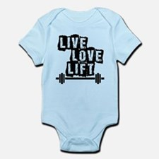 Live, Love, Lift Body Suit