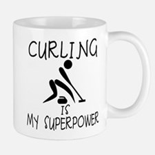 CURLING is My Superpower Mug