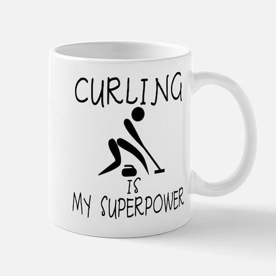 CURLING is My Superpower Mug