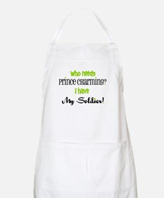 I have My Soldier (green) BBQ Apron