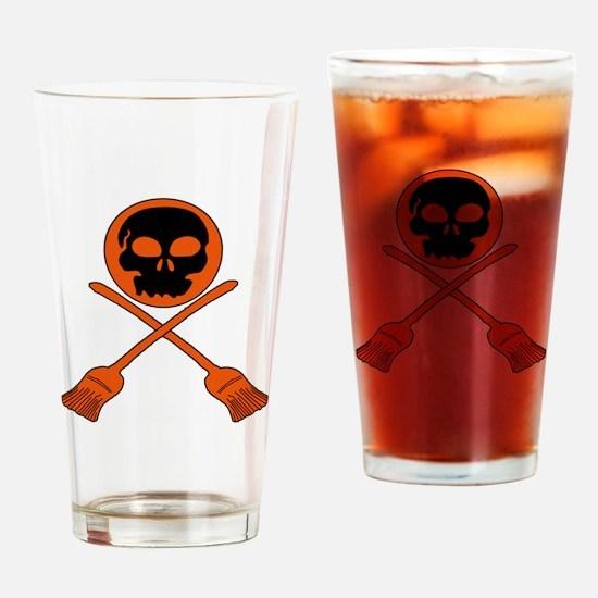 BROOMBALL Drinking Glass