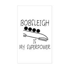 BOBSLEIGH is My Superpower Decal