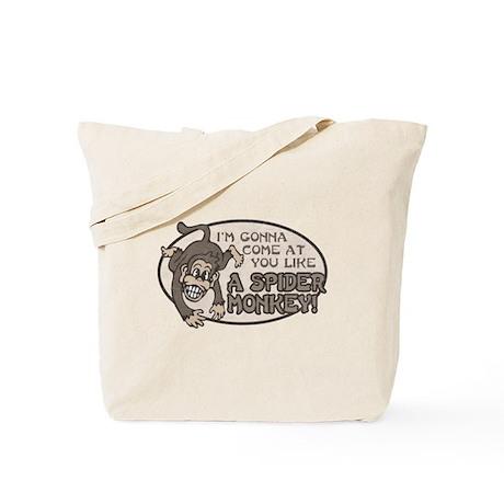 Spider Monkey [Talladega Nigh Tote Bag