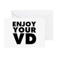 Enjoy Your VD Greeting Card