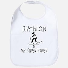 BIATHLON is My Superpower Bib