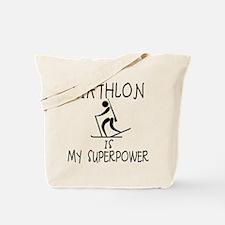 BIATHLON is My Superpower Tote Bag