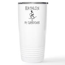 BIATHLON is My Superpower Travel Mug