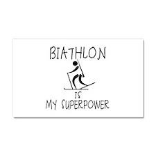 BIATHLON is My Superpower Car Magnet 20 x 12