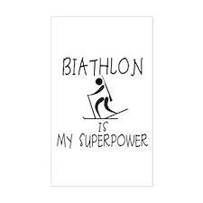 BIATHLON is My Superpower Decal