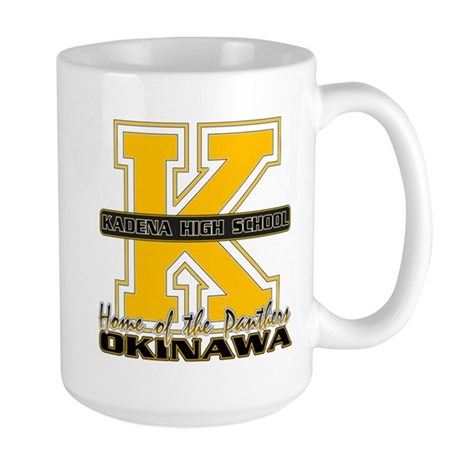 Kadena HS big K Mugs