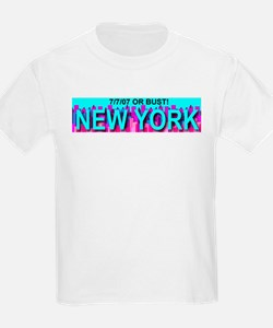 7.7.07 Or Bust New York T-Shirt