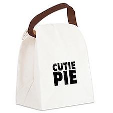Cutie Pie Canvas Lunch Bag