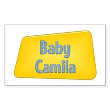 Baby Camila Rectangle Decal