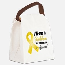 Childhood Cancer Support Canvas Lunch Bag
