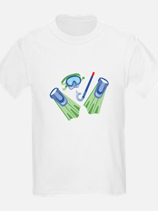 Snorkel Flippers T-Shirt