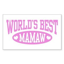 World's Best Mamaw Decal