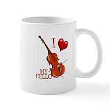 I Love My CELLO Mug
