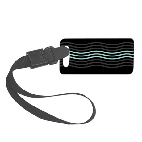 Cool Wave Small Luggage Tag
