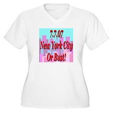 7.7.07 New York T-Shirt