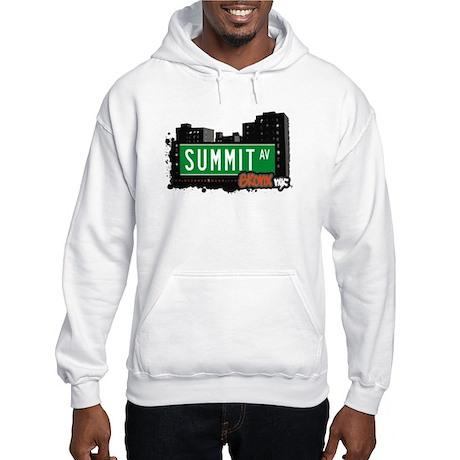 Summit Av, Bronx, NYC Hooded Sweatshirt