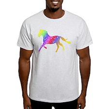 Unique Floral Horse T-Shirt