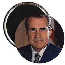 "Richard M. Nixon 2.25"" Magnet (10 pack)"