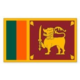 Sri lanka Bumper Stickers