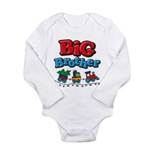 Choo Choo Big Brother Long Sleeve Infant Bodysuit