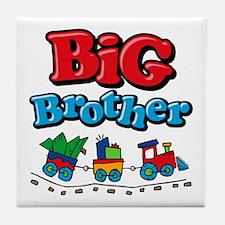 Choo Choo Big Brother Tile Coaster