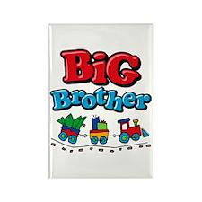 Choo Choo Big Brother Rectangle Magnet