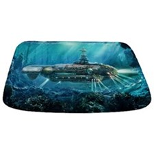 Steampunk Submarine Bathmat