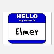 hello my name is elmer  Postcards (Package of 8)
