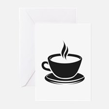 Cup Of Coffee Greeting Cards (Pk of 20)