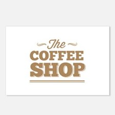 The Coffee Shop Postcards (Package of 8)