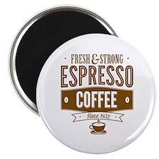 "Espresso Coffee 2.25"" Magnet (100 pack)"