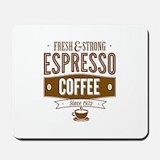 Espresso Coffee Mousepad
