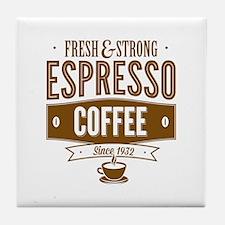 Espresso Coffee Tile Coaster