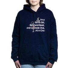 TOP Tennis Court Diva Women's Hooded Sweatshirt