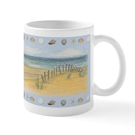 Nantucket Isle Dune Fence Mug