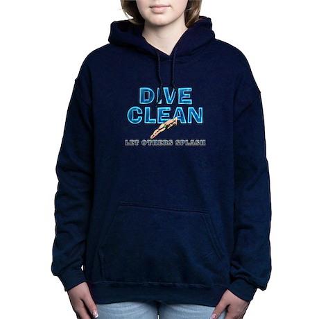 Dive Clean Women's Hooded Sweatshirt