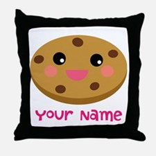 Cookie Lover Personalized Throw Pillow