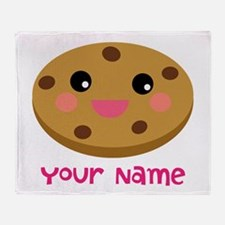 Cookie Lover Personalized Throw Blanket