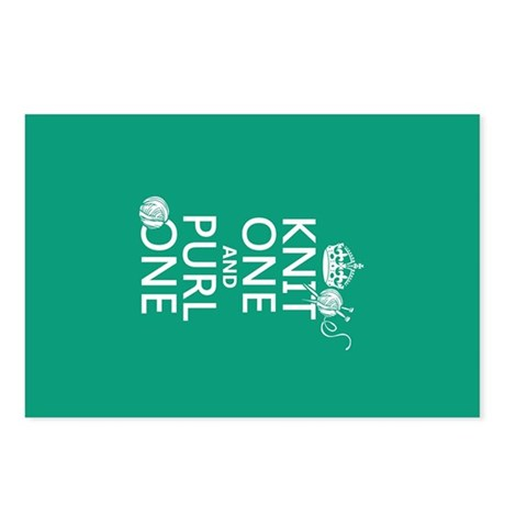Knit One and Purl One Postcards (Package of 8)