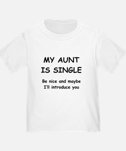 Aunt t shirts shirts tees custom aunt clothing for Custom single t shirts