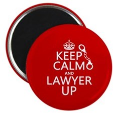 Keep Calm and Lawyer Up Magnets