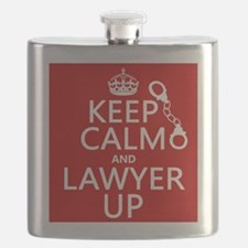 Keep Calm and Lawyer Up Flask